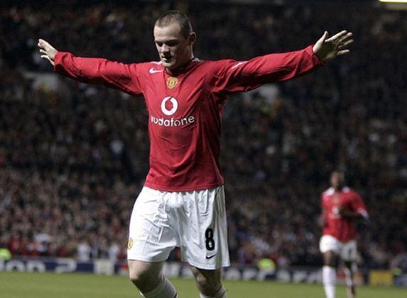 22. Wayne Rooney - Ele não quer mais a seleção (Foto: Arquivo Premier League)  179 assistências em 862 jogos. O atacante inglês não sabe só fazer gols.