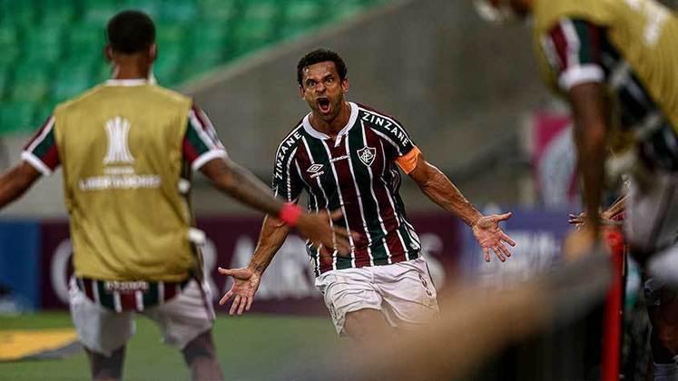 22/04/2021 - Na estreia na Libertadores foi dos pés de Fred que saiu o gol de empate diante do River Plate. O Flu saiu atrás, mas conseguiu garantir o 1 a 1 em casa.