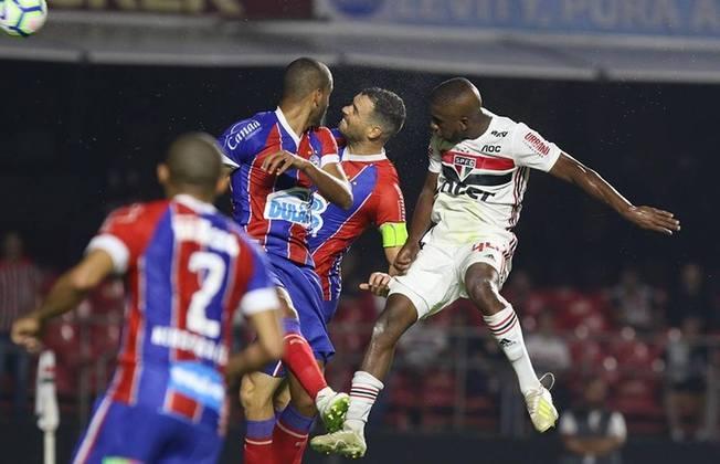 22/5/2019 - São Paulo 0x1 Bahia - jogo de ida das oitavas de final da Copa do Brasil