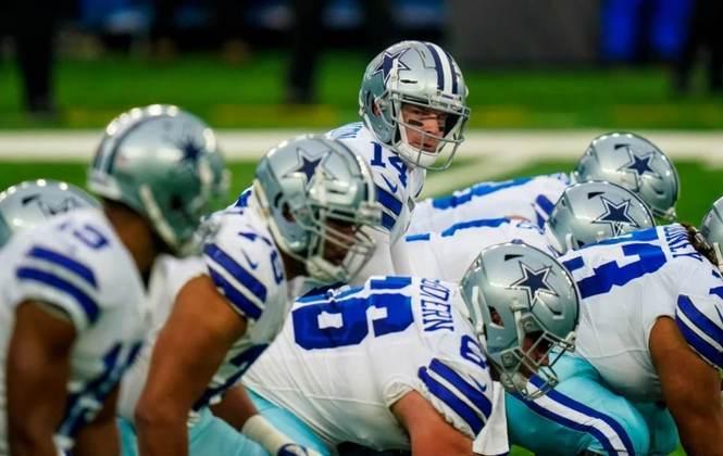 23º Dallas Cowboys (6-10): Um time que sofreu com lesões durante a temporada, mas finalizou a temporada batalhando posse a posse, para, ao menos, dar esperanças de um futuro melhor.