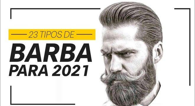 23 estilos de BARBAS para 2021