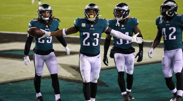 23º Philadelphia Eagles - Um dos piores líderes de divisão de toda a história da NFL. Muitos buracos a serem preenchidos para o time voltar a sonhar com título.