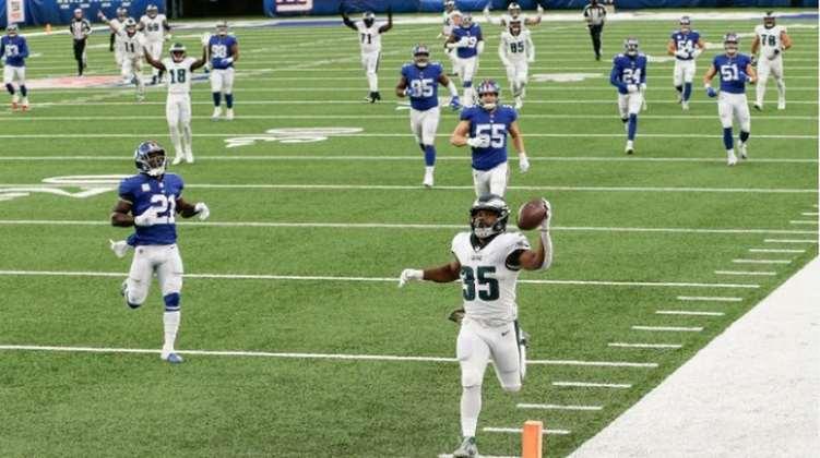 23° Philadelphia Eagles - Uma derrota frente aos Giants na última semana e a equipe segue com os mesmos problemas desde a semana 1. Extremamente inconstante