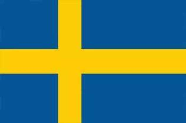 24º lugar - Suécia: 16 pontos (ouro: 2 / prata: 5 / bronze: 0).
