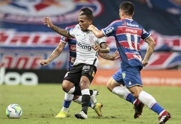 24ª Rodada - Corinthians empata com o Fortaleza em 0 a 0 e permanece na 11ª posição (30 pontos). Distância para o G6: 8 pontos.