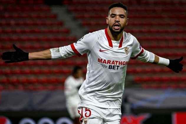 24º - Sevilla - Valor do elenco segundo o Transfermarkt: 397,9 milhões de euros (aproximadamente R$ 2,43 bilhões)