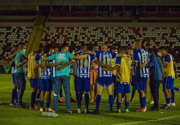 25 – Avaí (R$ 233 milhões) - clube tem seu estádio próprio na cidade de Florianópolis e se valorizou voltando para a Série A em 2019. A volta para a Série B em 2020 reduzirá seu valor na próxima edição do estudo