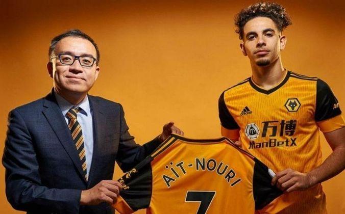 25° colocado - Wolverhampton - 113 jogadores contratados - Última aquisição: Rayan Aït Nouri (11 milhões de euros).