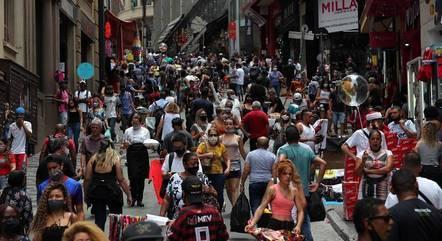 Rua 25 de Março, em São Paulo (SP)