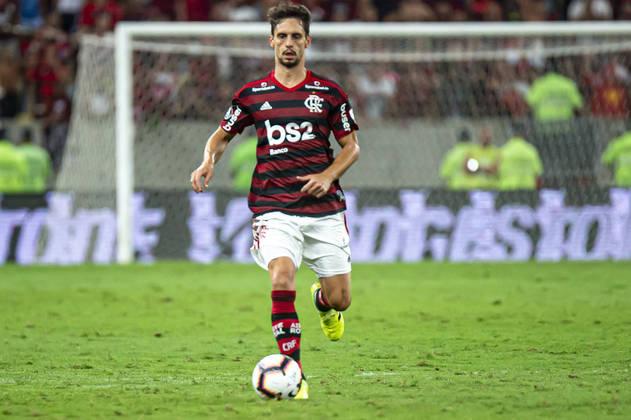 25º lugar: Rodrigo Caio - Zagueiro - Flamengo - 27 anos - Valor de mercado segundo o site Transfermarkt: 6 milhões de euros (aproximadamente R$ 38,62 milhões)