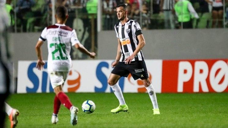 25º - Réver - Posição: Zagueiro - Clube: Atlético-MG - Idade: 36 anos - Valor de mercado segundo o Transfermarkt: 600 mil euros (aproximadamente R$ 3,71 milhões) - Contrato até: 31/12/2021