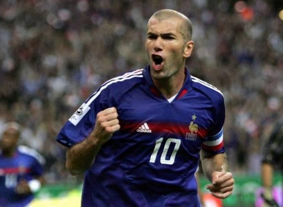 25) Zinedine Zidane (França) - Futebol