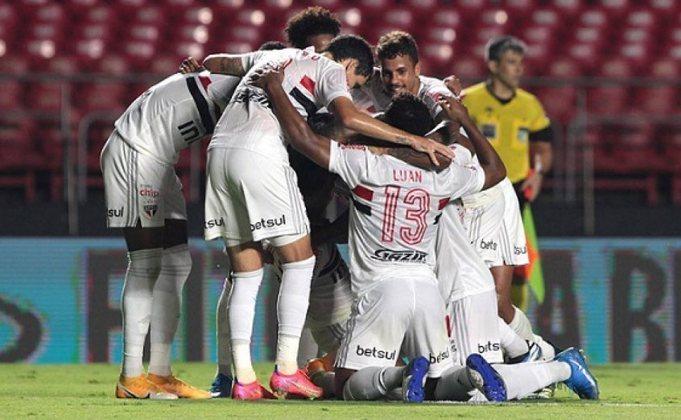 25/02/2021 - São Paulo 2 x 1 Flamengo (Morumbi) - Campeonato Brasileiro 2020