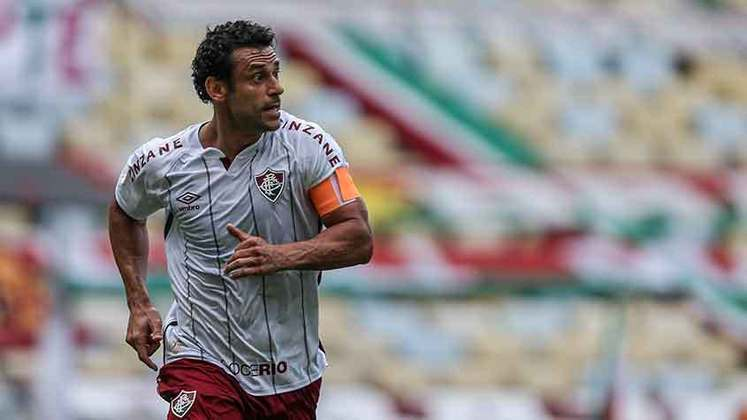 25/10/2020 - Na partida seguinte, a vitória por 3 a 1 sobre o Santos, Fred novamente não balançou a rede, mas deu a assistência para Luccas Claro marcar o primeiro gol da partida.
