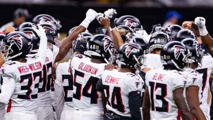 26º Atlanta Falcons - 2020 tem pouco a oferecer aos Falcons. Foco é analisar o mercado de treinadores e fazer um bom escaneamento dos talentos à disposição no Draft.