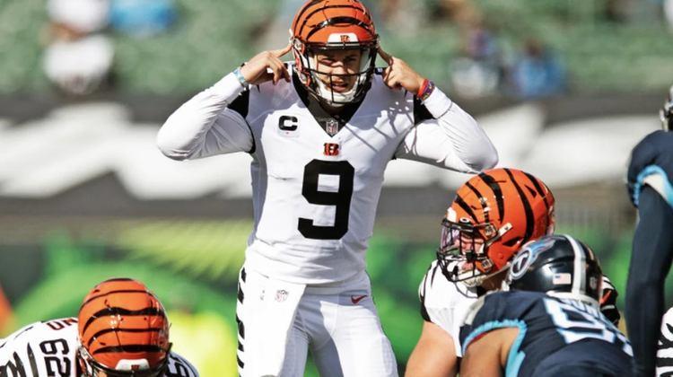 26º Cincinnati Bengals - A linha ofensiva tem tido melhor desempenho nas últimas semanas, e Joe Burrow está soltando o braço sem medo de ser feliz.