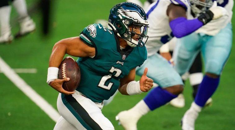 26º Philadelphia Eagles (4-10-1): Os erros se repetem com Hurts ou Wentz como quarterback. É hora de mudanças estruturais na Filadélfia.