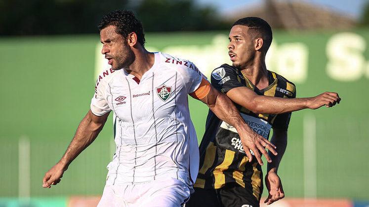26/03/2021 - Fazendo sua estreia na temporada, Fred marcou dois gols na derrota por 3 a 2 para o Volta Redonda. O Flu quase reagiu depois de sair perdendo, mas viu os adversários vencerem nos acréscimos.