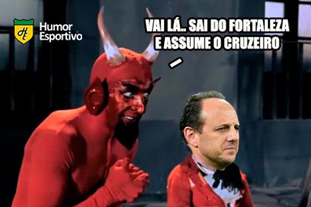 26.09.19 - Após confusões com os medalhões do time e menos de dois meses no cargo, Rogério Ceni é demitido do Cruzeiro