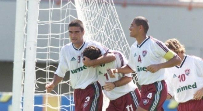 27 de janeiro de 2002 - Fluminense 8 x 0 América - Giulite Coutinho - Torneio Rio-São Paulo