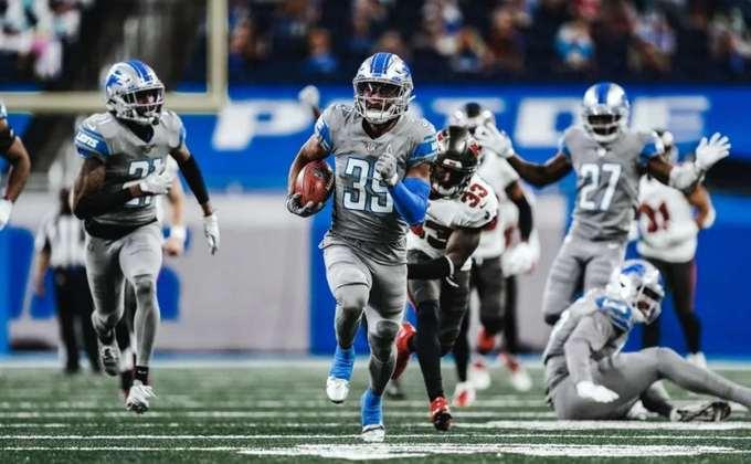 27º Detroit Lions (5-10): Se com Matthew Stafford a situação já era difícil, imagine sem o astro? Os Lions torcem para o fim da temporada e esperam pelo novo ano.