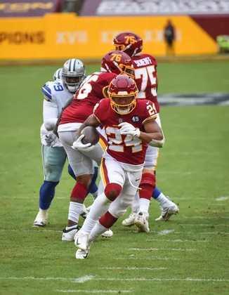 27 - Washington: Nada como enfrentar o moribundo Dallas Cowboys para voltar a vencer na NFL.