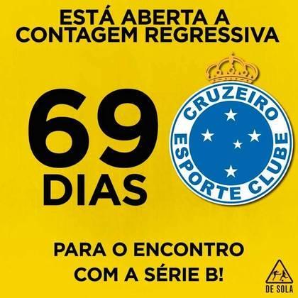27.09.19 - Abel Braga assume o Cruzeiro e estreia com derrota para o Goiás. Começa a contagem regressiva para o rebaixamento.