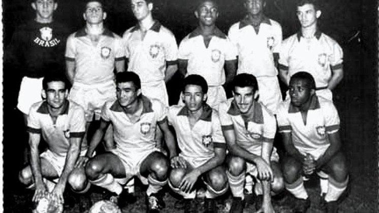 27/12/1959 - Seleção Olímpica Brasil 7 x 1 Seleção Olímpica Colômbia - Gols do Brasil: Manoelzinho (3), China (2), Germano e Lombaña (contra)