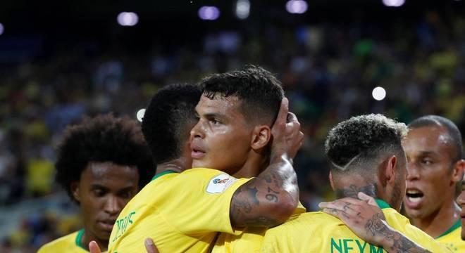 27.jun.2018 - Brasil x Sérvia