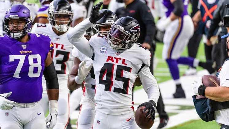 28° Atlanta Falcons: A primeira vitória na temporada após a demissão do treinador Dan Quinn. O time esteve mais animado?