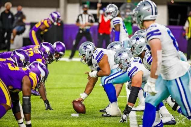 28º Dallas Cowboys - Uma surpreendente vitória sobre os Vikings. Ao menos brio o time demonstra ter numa decepcionante temporada.