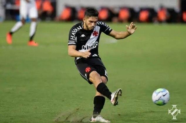 28º - Resende 1x3 Vasco - Campeonato Carioca 2021 - Em rápida jogada de contra-ataque, Andrey cruzou e Cano marcou.