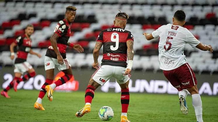 28ª rodada) Flamengo 1x2 Fluminense, no Maracanã, em 6 de janeiro de 2021