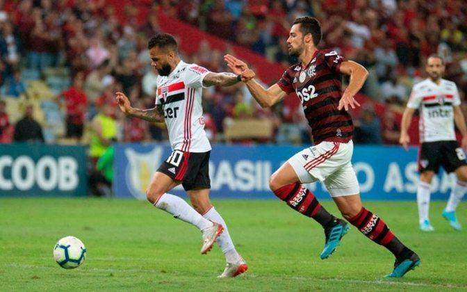 28/09/2019 - Flamengo 0 x 0 São Paulo (Maracanã) - Campeonato Brasileiro