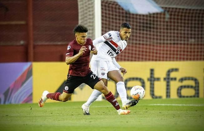 28/10/2020- Lanús 3 x 2 São Paulo (Copa Sul-Americana) - Último jogo do São Paulo na Argentina. Derrota para o Lanús, com dois gols de Sand.
