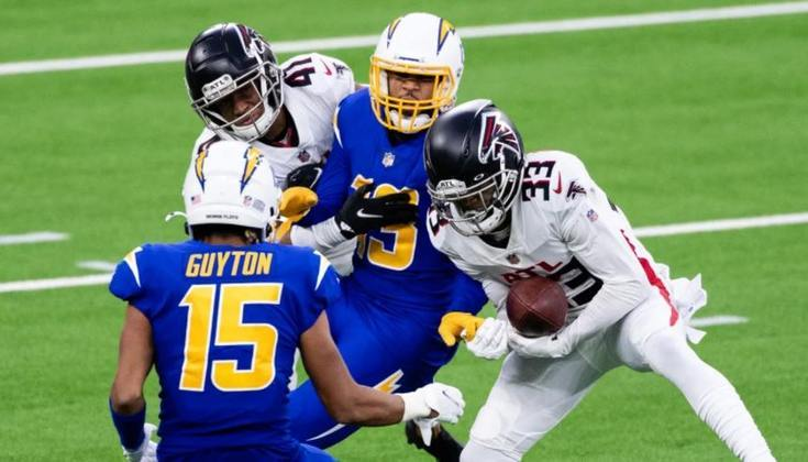 29º Atlanta Falcons (4-9): Tanto talento subaproveitado. É triste ver um time que tem Julio Jones, Calvin Ridley e Matt Ryan não conseguir produzir na hora decisiva.