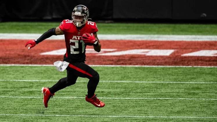 29 - Atlanta Falcons: O time que mais permite viradas improváveis na NFL. Problema dos Falcons parece ser psicológico.