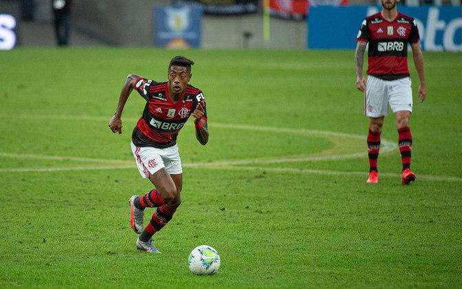 29º lugar: Bruno Henrique - Atacante - Flamengo - 30 anos - Valor de mercado segundo o site Transfermarkt: 5,5 milhões de euros (aproximadamente R$ 35,4 milhões)