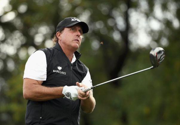 29º - Phil Mickelson (Golfe): receita em 2020 - 41 milhões de dólares (aproximadamente R$ 210,04 milhões)