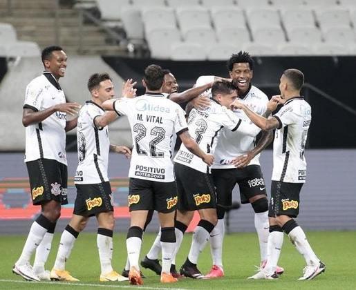 29ª Rodada - Corinthians goleia o Fluminense por 5 a 0 e sobe para a 8ª posição. Distância para o G6: 5 pontos.