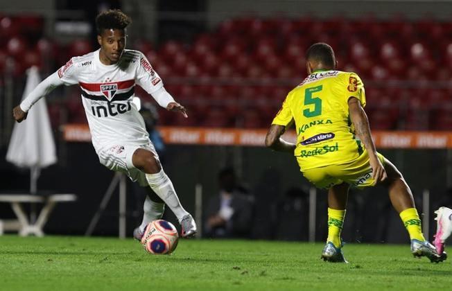 29/7/2020 - São Paulo 2x3 Mirassol - jogo único das quartas de final do Campeonato Paulista