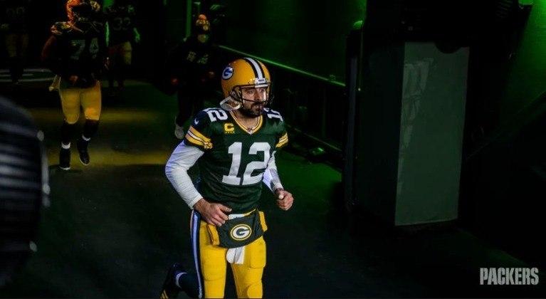 3º Aaron Rodgers: Líder em touchdowns em 2020, com 33. O camisa 12 dos Packers mostra que ainda tem gasolina no tanque para queimar.