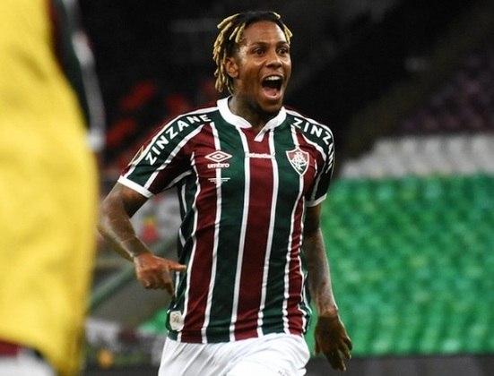 3º - Abel Hernández - Posição: Atacante - Clube: Fluminense - Idade: 31 anos - Valor de mercado segundo o Transfermarkt: 2,4 milhões de euros (aproximadamente R$ 14,86 milhões) - Contrato até: 31/12/2021