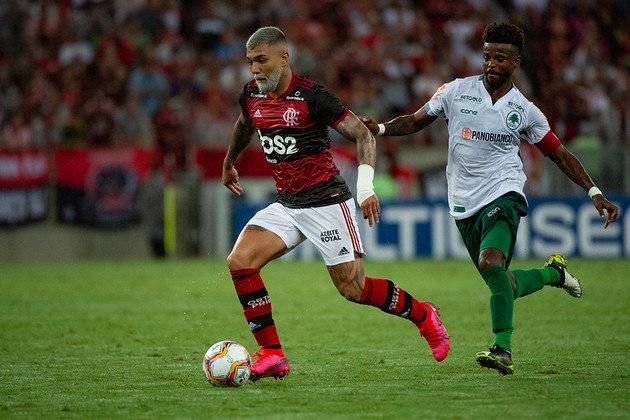3) Boavista 1 x 2 Flamengo - Data: 22/2/2020 - Local: Maracanã - Público pagante: 53.818 - Campeonato Carioca