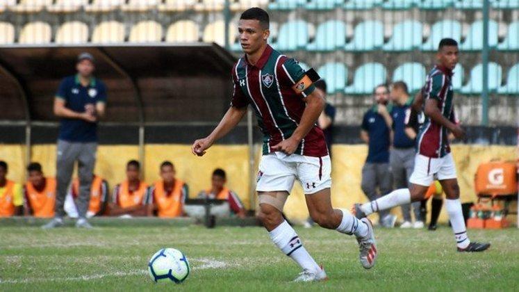 3º: Calegari (Fluminense) - 35 pontos.