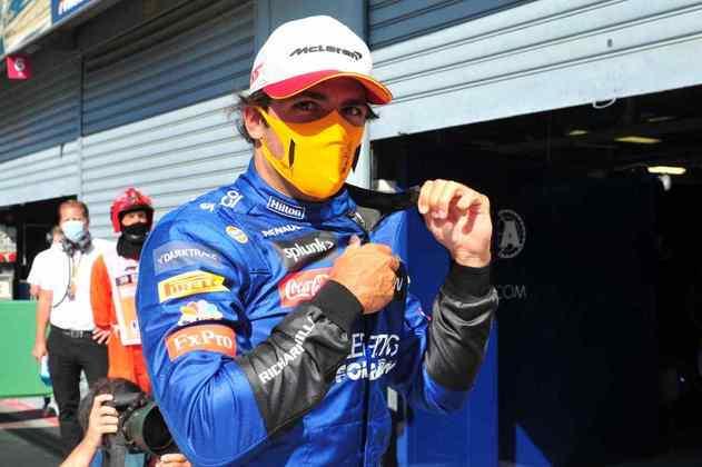 3) Carlos Sainz Jr. (McLaren), 1min19s695