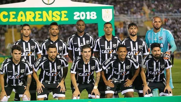 3º - Ceará: Campeonato Brasileiro 2018 - 1ª vitória nessa edição do Brasileirão: 13ª rodada, 1 a 0 diante do Sport.