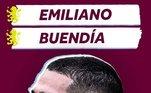 3º: Emiliano Buendía - Meia - 24 anos - Último clube: Norwich City - Destino: Aston Villa - Valor do negócio: 38,4 milhões de euros ( aproximadamente R$ 227,74 milhões)
