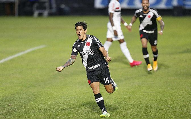 3º - Germán Cano - Vasco - 12 gols em 17 jogos