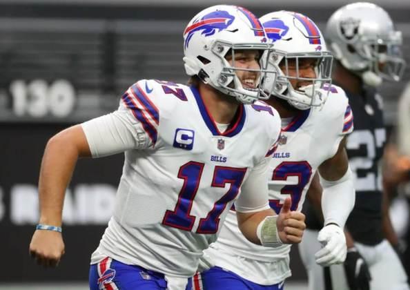 3º Josh Allen (Bills): É a surpresa da lista. Allen tem 12 touchdowns, 1326 jardas e lidera um invicto Buffalo